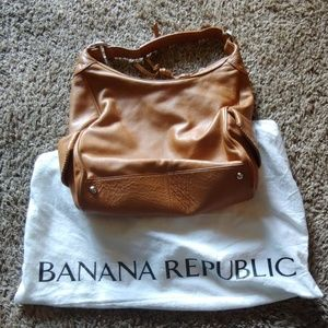 Banana Republic purse in brown leather